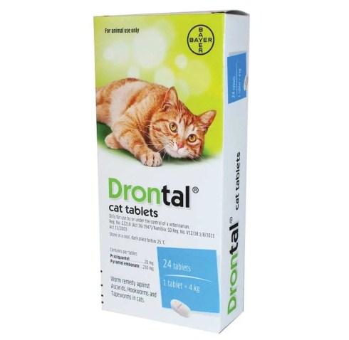 Drontal Cat - Obat Cacing Kucing